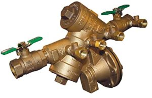 Certified backflow prevention device tester, installer, and certifier.