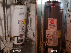 Plumber for Hot Water Heater Replacement.