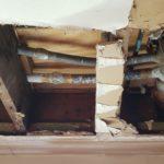 Plumbing contractor for emergency pipe repair.